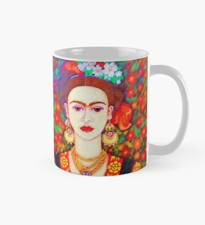 My other Frida Kahlo with butterflies  Mug