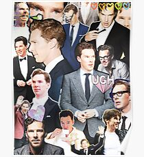 benedict cumberbatch collage Poster