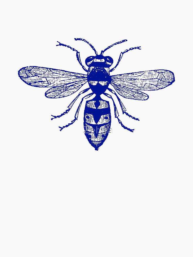 Blue Wasp by Zehda