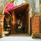 Mission San Juan Capistrano California 1 by Dana Roper