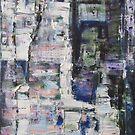 Gerhard, Monster Artist, Original Abstract painting by Dmitri Matkovsky
