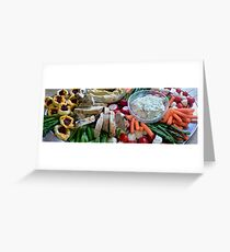 catering  Greeting Card