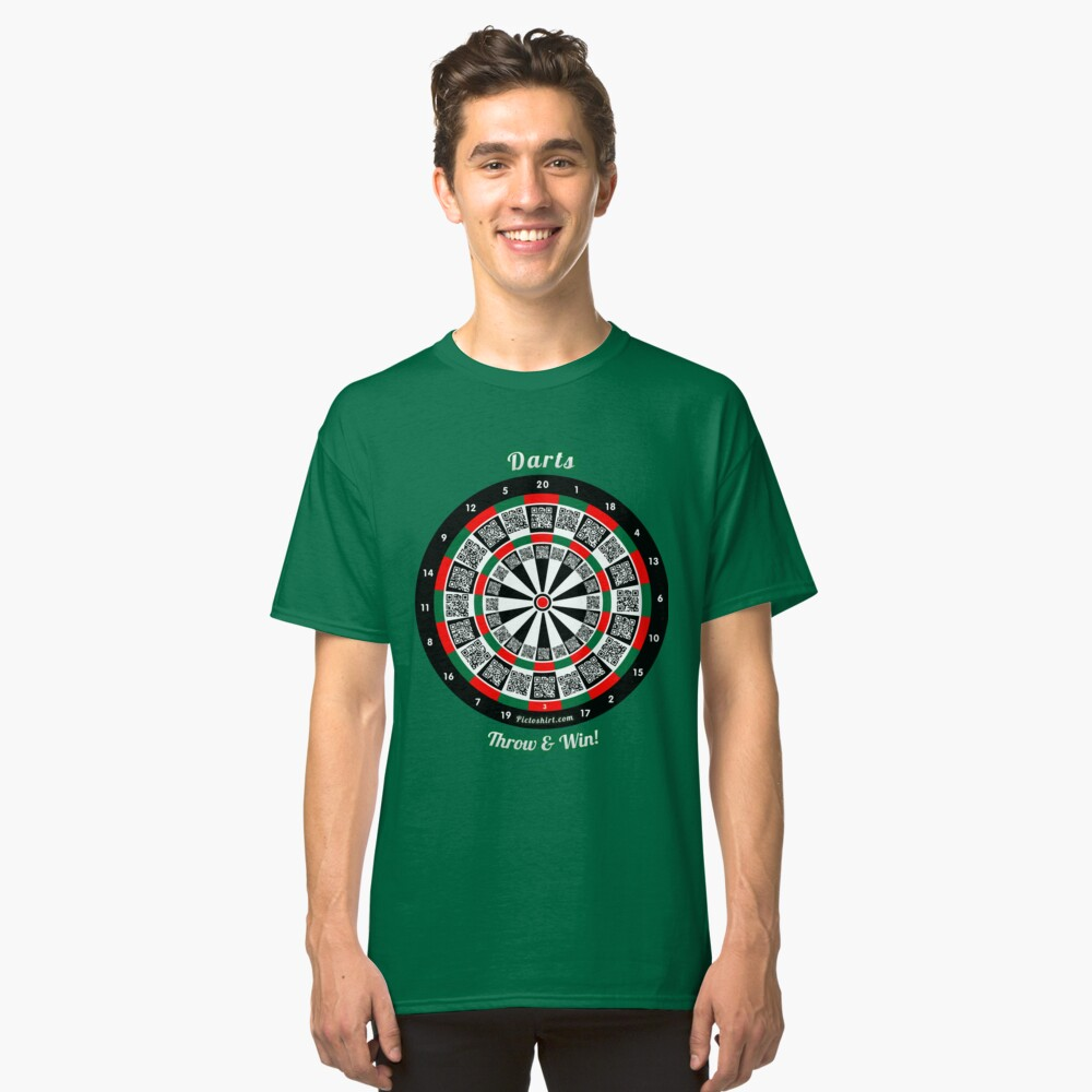 Interactive darts, family and friends game t-shirt Classic T-Shirt