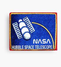 NASA Hubble Program Logo Canvas Print
