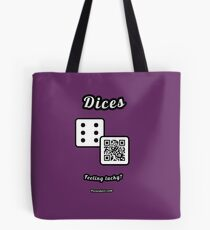 Interactive dice game, family and friends dice t-Shirt Tote Bag