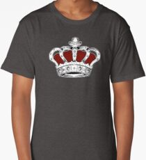 Crown - Red Long T-Shirt