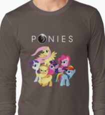 Ponies Long Sleeve T-Shirt