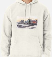 New England Coast Pullover Hoodie