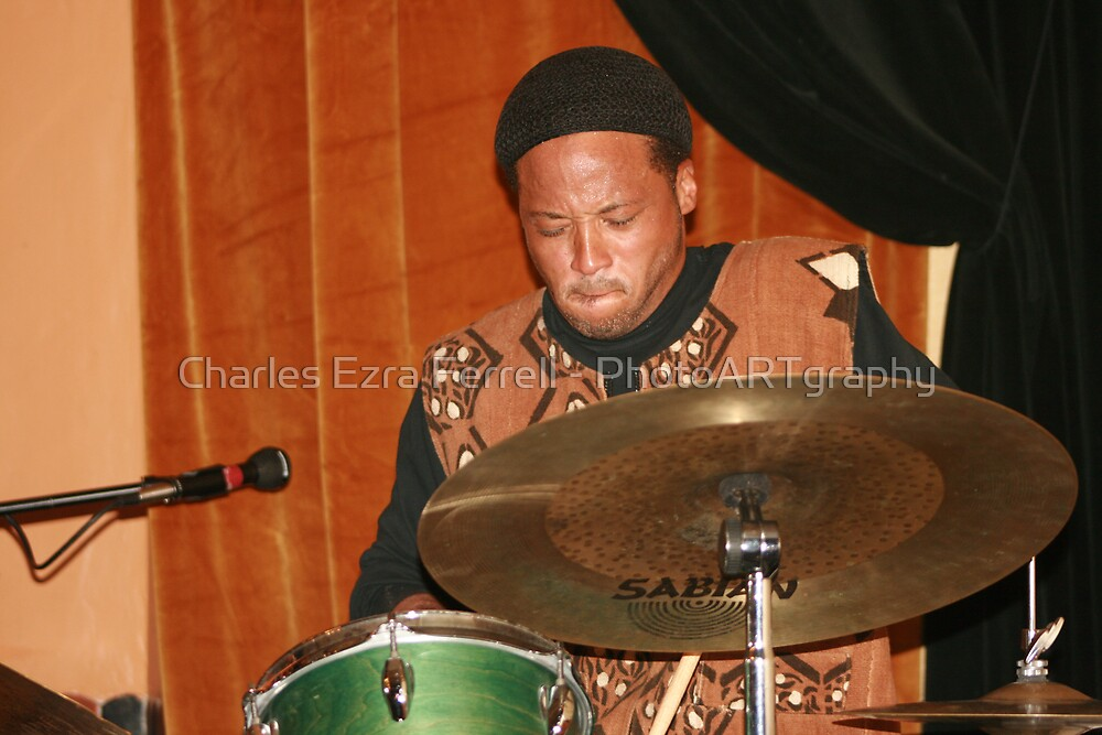 African Musicality - Winard Harper by Charles Ezra Ferrell - PhotoARTgraphy