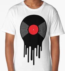 Liquid Vinyl Record Long T-Shirt