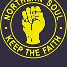 Northern Soul Badge by deerokone
