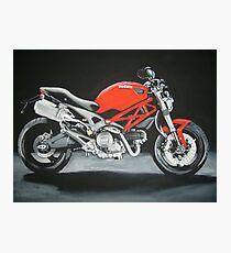 Ducati motorbike Photographic Print