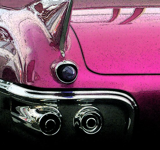 Pink Cadillac by Roz McQuillan