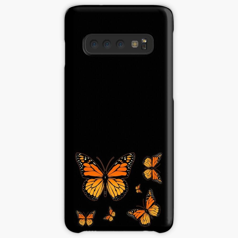 Mariposa monarca Rapsody Fundas y vinilos para Samsung Galaxy