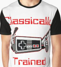 Classically Trained Nintendo T-Shirt Graphic T-Shirt