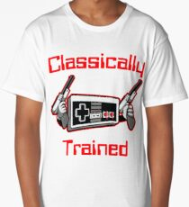 Classically Trained Nintendo T-Shirt Long T-Shirt
