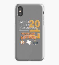 2017 World Series Champions Houston Astros_Style 04 iPhone Case/Skin