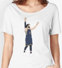 Ricky Rubio Embraces The Crowd Women's Relaxed Fit T-Shirt