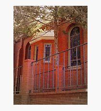 Red Brick Church Photographic Print