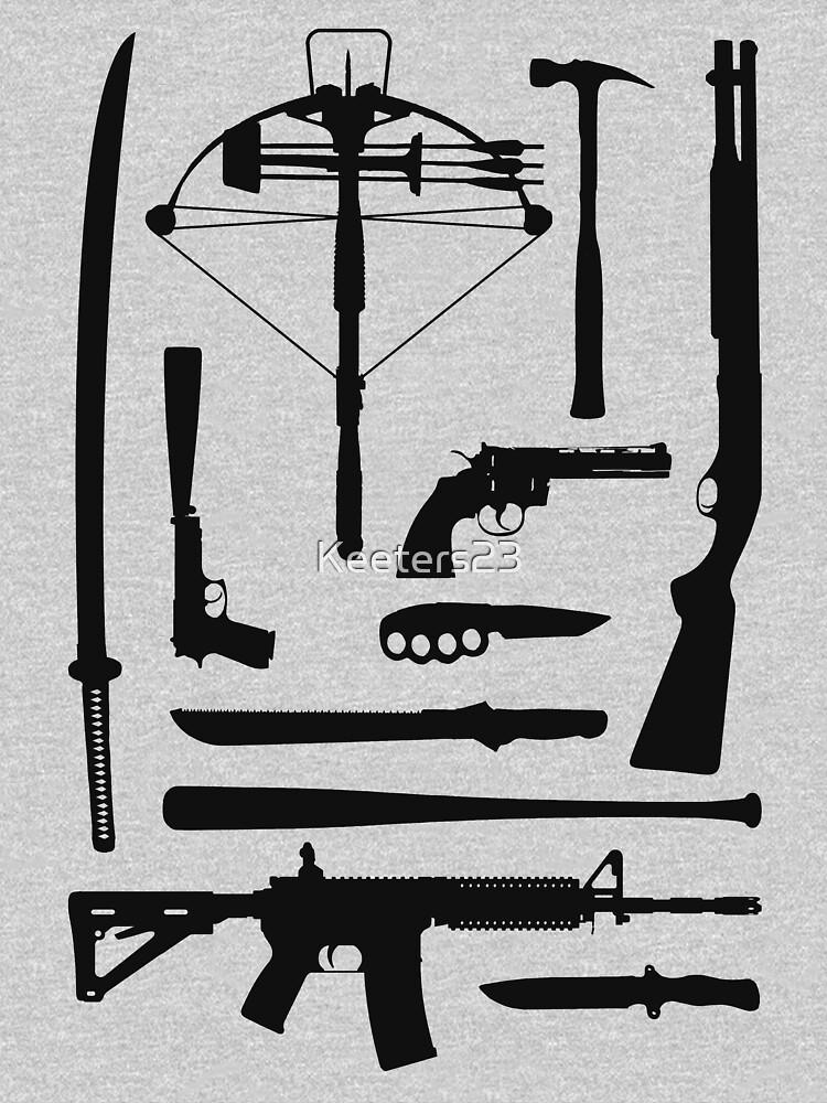 Die Walking Dead Waffen von Keeters23