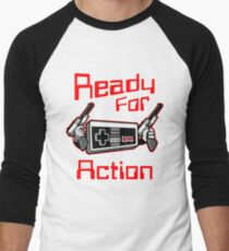 Ready For Action Nintendo Style T-Shirt