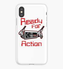 Ready For Action Nintendo Style iPhone Case