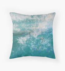 Into the Ocean - JUSTART Throw Pillow