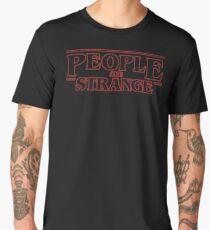 Stranger Things - People are Strange - The Doors - Intense Men's Premium T-Shirt