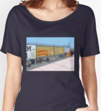 coney island shrimp and chicken Women's Relaxed Fit T-Shirt