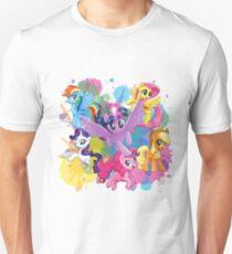 mlp movie mane six T-Shirt