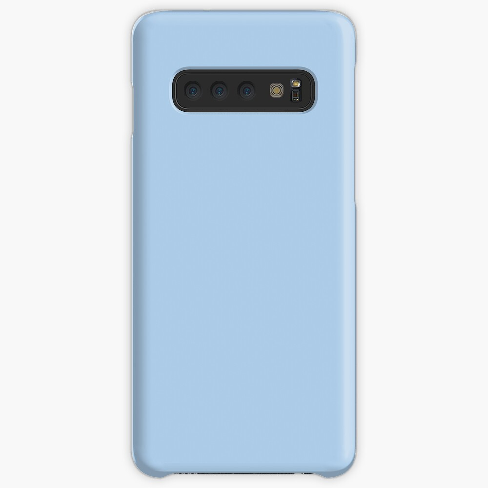 Baby Blue Solid Color Decor Case & Skin for Samsung Galaxy
