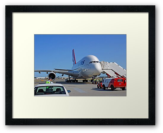 Parked A380  by EOS20