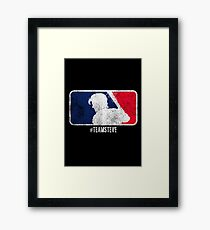 Team Steve Framed Print