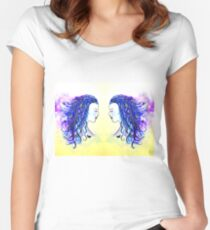 Mirror Image   Women's Fitted Scoop T-Shirt