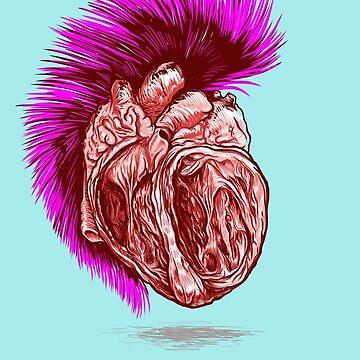 PUNK HEART by uwanlibner