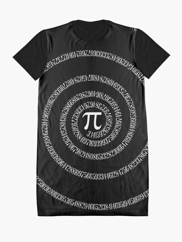 Alternate view of A s Pi ral ... Graphic T-Shirt Dress