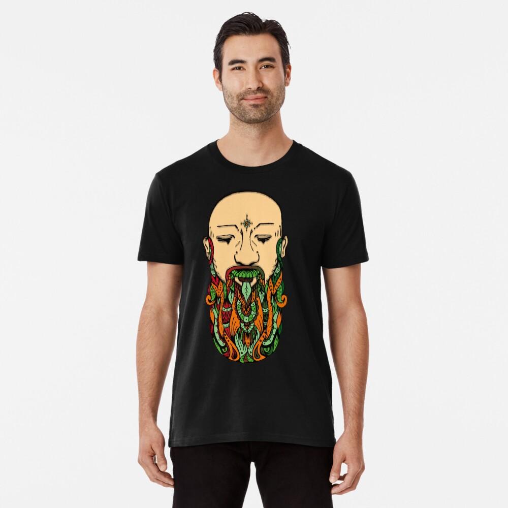 Beard of Abundance Men's Premium T-Shirt Front
