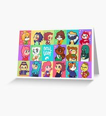 Animal crossing new leaf greeting cards redbubble animal crossing new leaf greeting card m4hsunfo Images