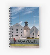 Islay: Lagavulin Spiral Notebook