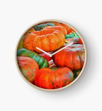 Heirloom Pumpkins Clock