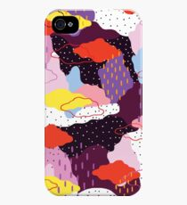 Purple Winter iPhone 4s/4 Case