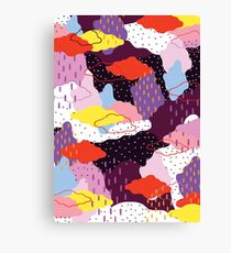 Purple Winter Canvas Print