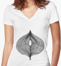 The Zone Women's Fitted V-Neck T-Shirt