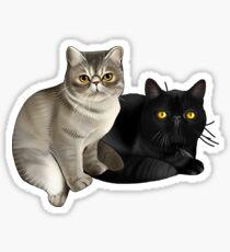 Trixie and Monty Sticker