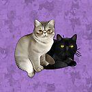 Trixie and Monty by jimiyo