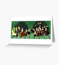 Sister Act-Nun Mug Greeting Card
