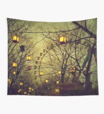 Fairy Wheel Wall Tapestry