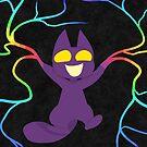 GhostKat- Rainbow Vines by Mannykat8x