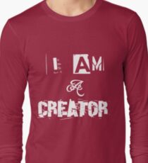 I Am A Creator Long Sleeve T-Shirt
