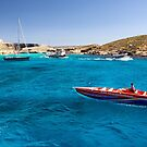 Heading for Blue Lagoon Bay, Comino by Kasia-D